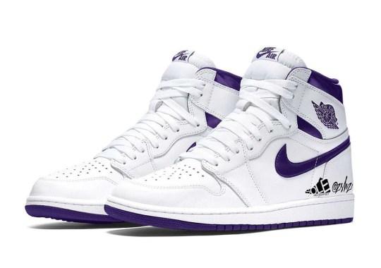 "Air Jordan 1 High ""Court Purple"" For Women Is Coming In April 2021"