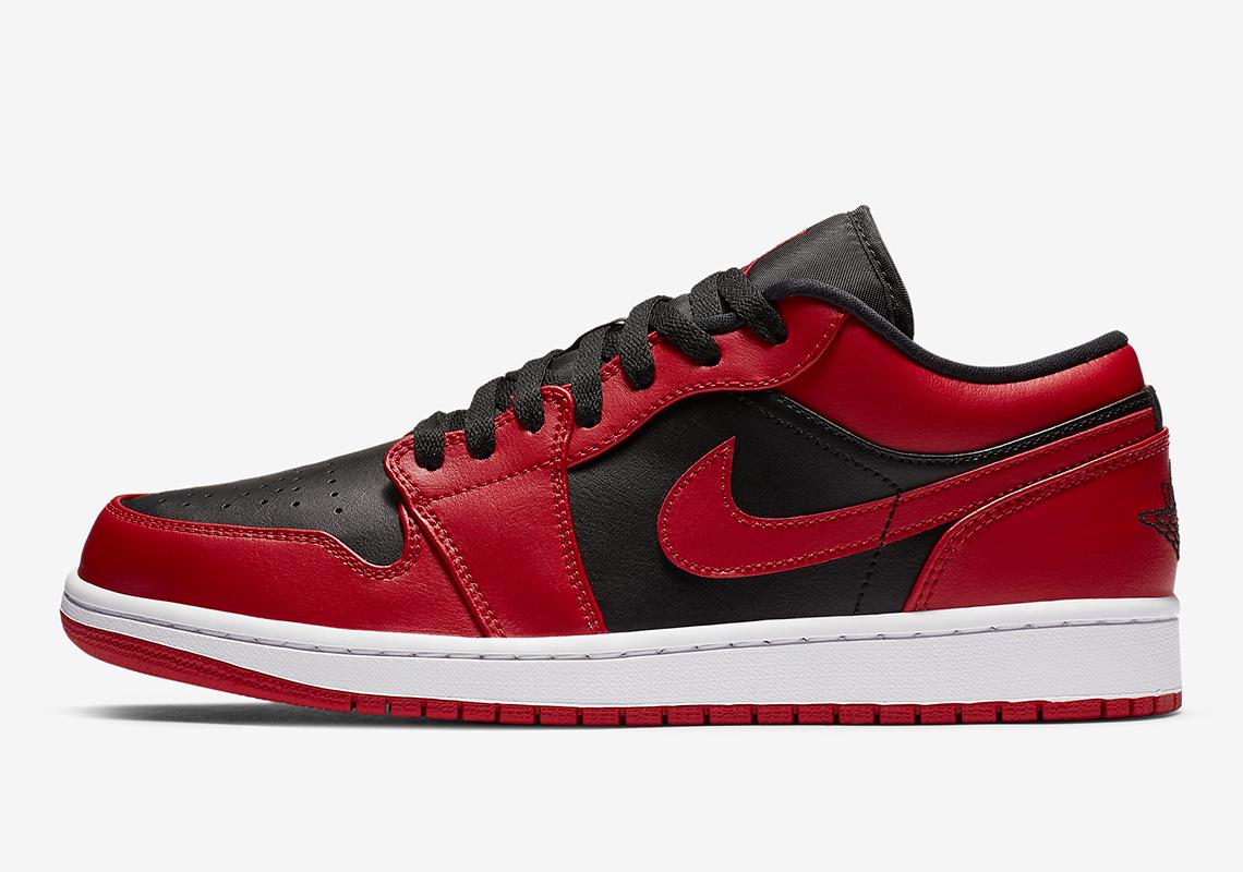 air jordan 1 low red