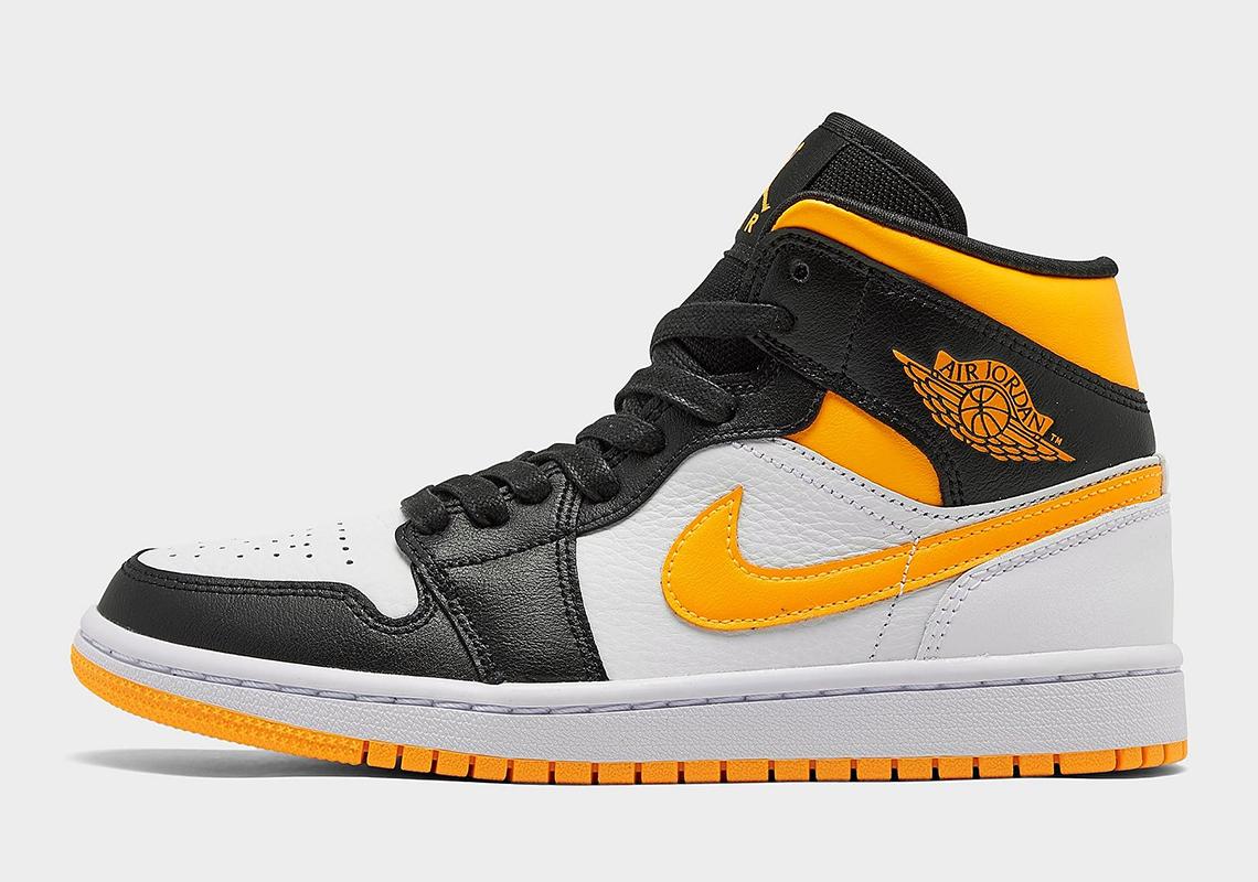 nacido Equipo de juegos de madera  Air Jordan 1 Mid Laser Orange Black CV5276-107 | SneakerNews.com