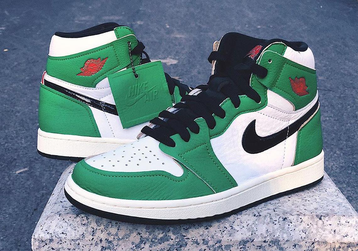 Air Jordan 1 WMNS Lucky Green Release Date | SneakerNews.com
