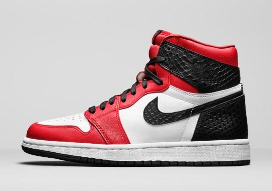"Jordan Brand Revisits A Recent Classic With The Air Jordan 1 Retro High OG ""Snakeskin"""