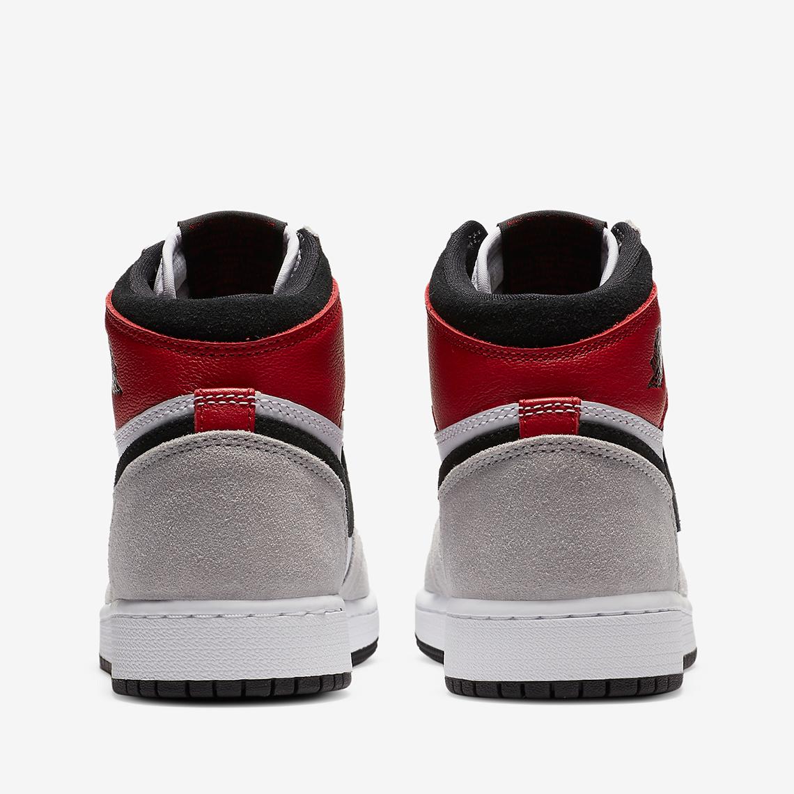 Air Jordan 1 High OG Light Smoke Grey 555088-126 12