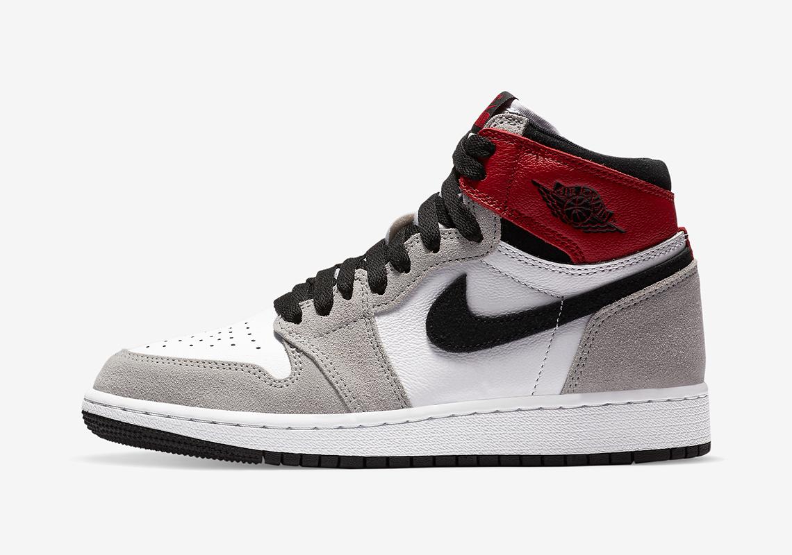 Air Jordan 1 High OG Light Smoke Grey 555088-126 10