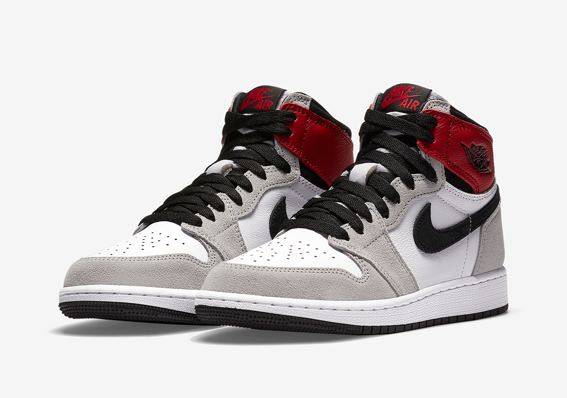 Air Jordan 1 High OG Light Smoke Grey 555088-126 9