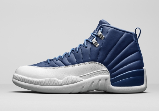 Upcoming Air Jordan 12 Retro Featured Dyed Indigo Leather Uppers
