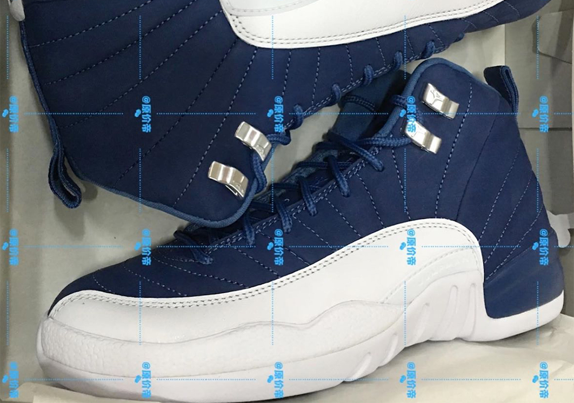 Air Jordan 12 Obsidian White Release Date Sneakernews Com