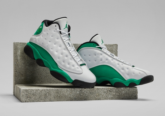 "Air Jordan 13 ""Lucky Green"" Officially Unveiled"