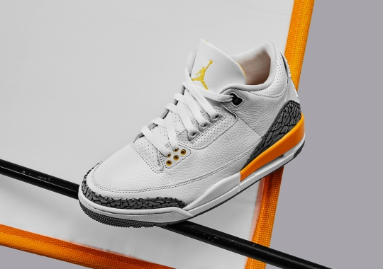 "Air Jordan 3 ""Laser Orange"" Officially Unveiled"
