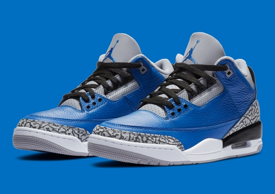 "Official Images Of The Air Jordan 3 ""Royal"""