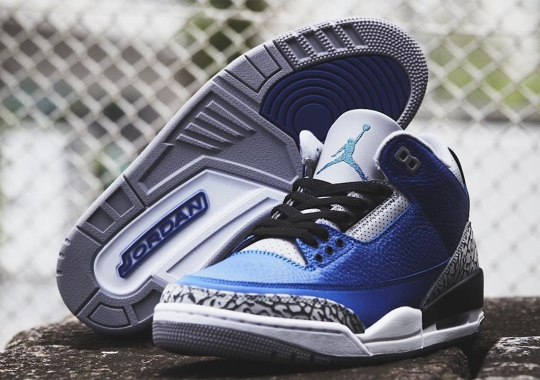 "Where To Buy The Air Jordan 3 ""Royal"""