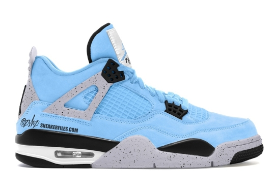 "Air Jordan 4 ""University Blue"" Scheduled For 2021 Release"