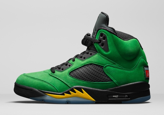 College-Themed Air Jordan 5 Retros Return With Oregon Ducks-Inspired Colorway