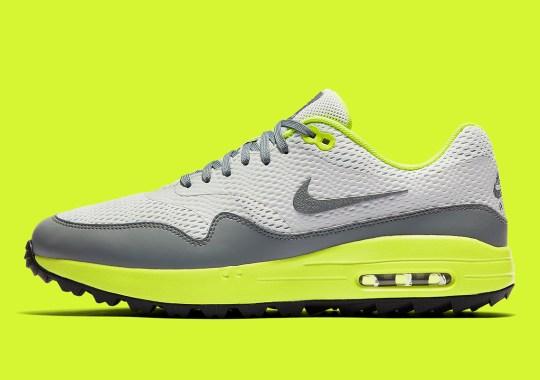 "The Nike Air Max 1 Golf Drops In ""Lemon Venom"""