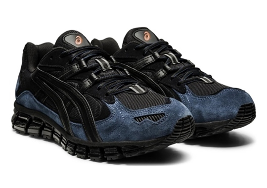 The ASICS GEL-Kayano 5 360 Settles In With Dark Navy And Black