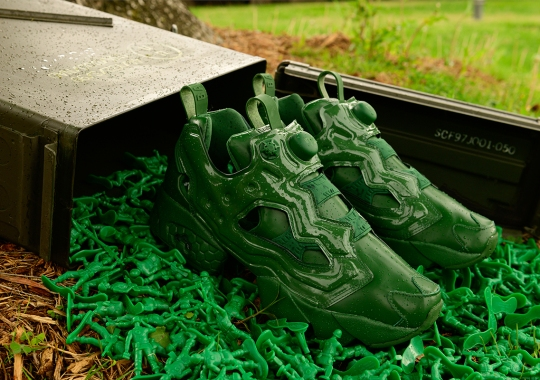 """BAIT And Toy Story Reveal Limited Edition Reebok Instapump Fury """"Army Men"""""""
