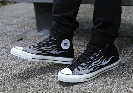"Converse Chuck Taylor ""Flames"" Pack Lights Up With Reflective Uppers"