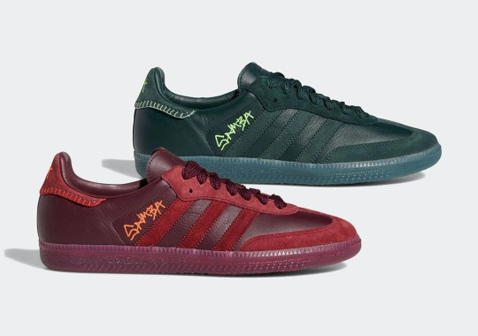 Jonah Hill's adidas Samba Collaboration Is Arriving In Two Colorways
