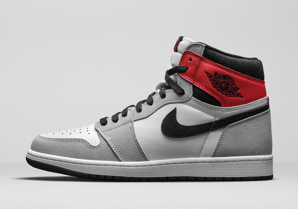 Air Jordan 1 High OG Smoke Grey 555088-126 | SneakerNews.com