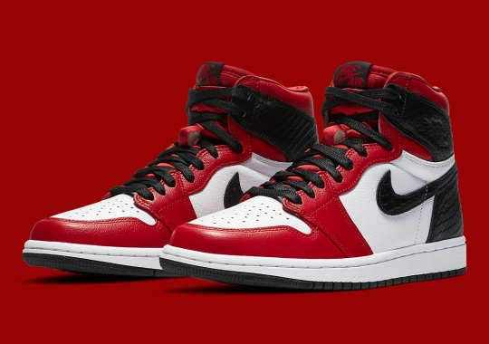 "Jordan Brand Revisits A Recent Classic With The Air Jordan 1 Retro High OG ""Satin Red"""