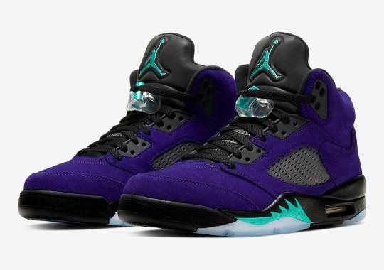 "The Air Jordan 5 ""Alternate Grape"" Is Releasing On July 7th"