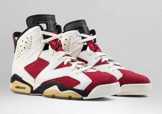 "Air Jordan 6 ""Carmine"" Release Date Revealed"