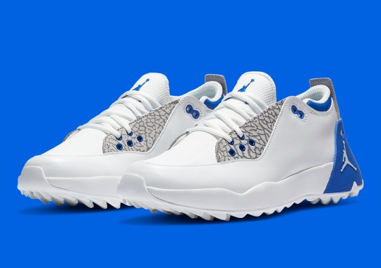 "The Jordan ADG 2 Golf Shoe Appears In ""True Blue"""