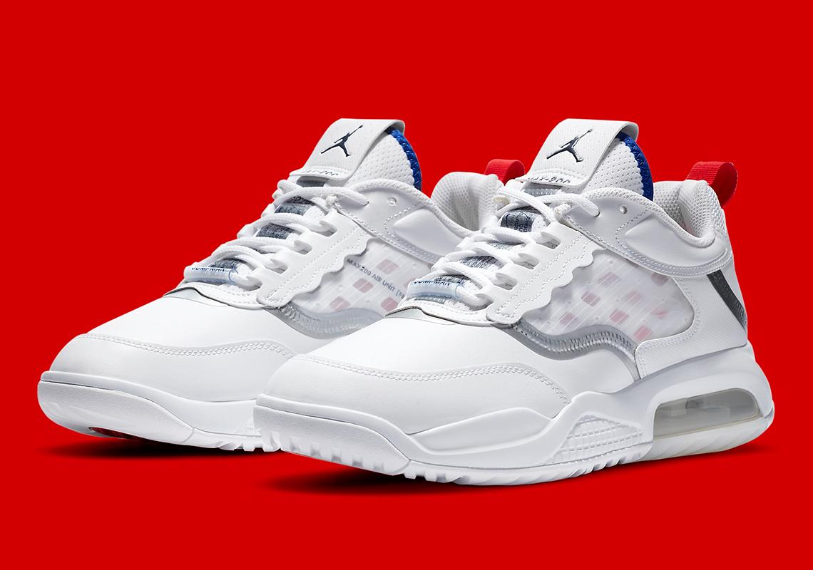 Jordan Air Max 200 White Red Blue CW7590-100 | SneakerNews.com