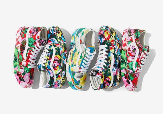 Kenzo And Vans Vault Team Up For An All-Over Floral Collaboration