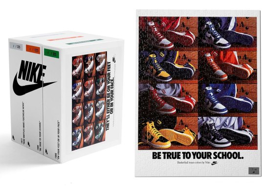 Here's How You Can Get The Limited Edition Nike Ad Jigsaw Puzzles