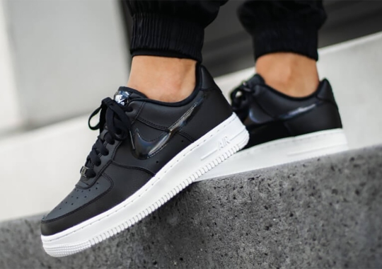 """Nike Air Force 1 Low """"Black Iridescent"""" Is Arriving Soon"""
