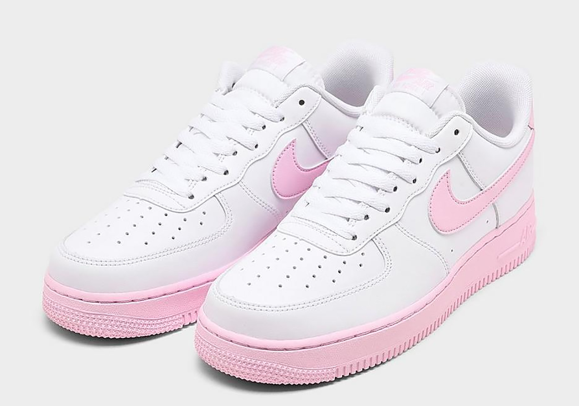 Nike Air Forece 1 Low White Pink Foam Ck7663 100 Sneakernews Com