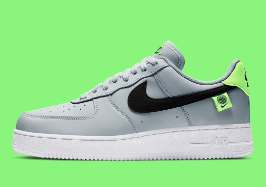 Nike Continues To Extend The Air Force 1 Worldwide Assortment With Grey And Neon