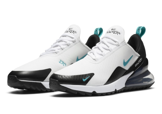 The Nike Air Max 270 Gets Revised Into A Golf Shoe