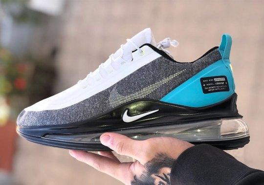 A Nike Air Max 720 Utility Model Surfaces