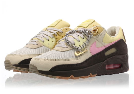 Nike Adds A Cuban Link Bracelet Hangtag To Women's Air Max 90