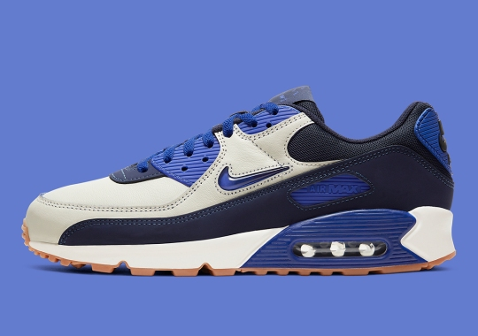 "Official Images Of The Nike Air Max 90 ""Home And Away"" In Royal Blue"