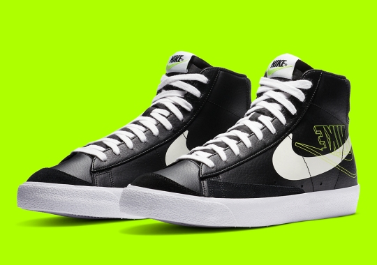 Nike Flips The Logo On This Upcoming Blazer Mid '77
