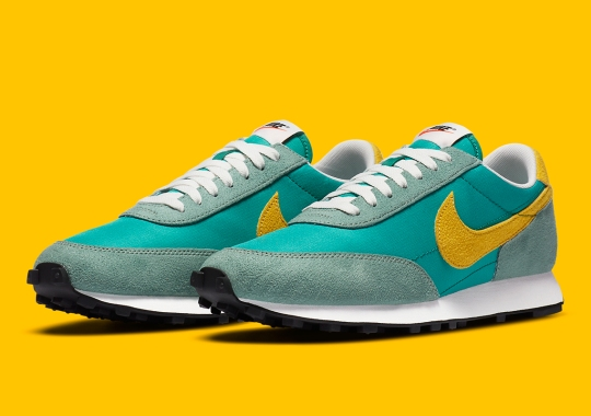 The Nike Daybreak SP Appears In A Retro Friendly Neptune Green And Speed Yellow