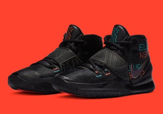"""Kyrie Irving's Jersey Number Featured In Nike Kyrie 6 """"Shot Clock"""""""