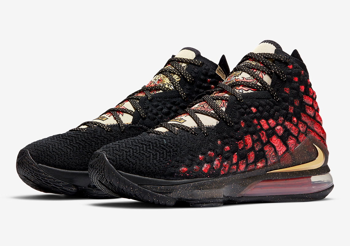 Nike LeBron 17 Courage - Release Date