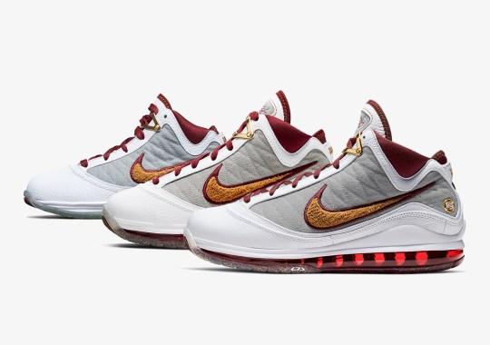 The Nike LeBron 7 MVP Is Releasing In Full Family Sizes
