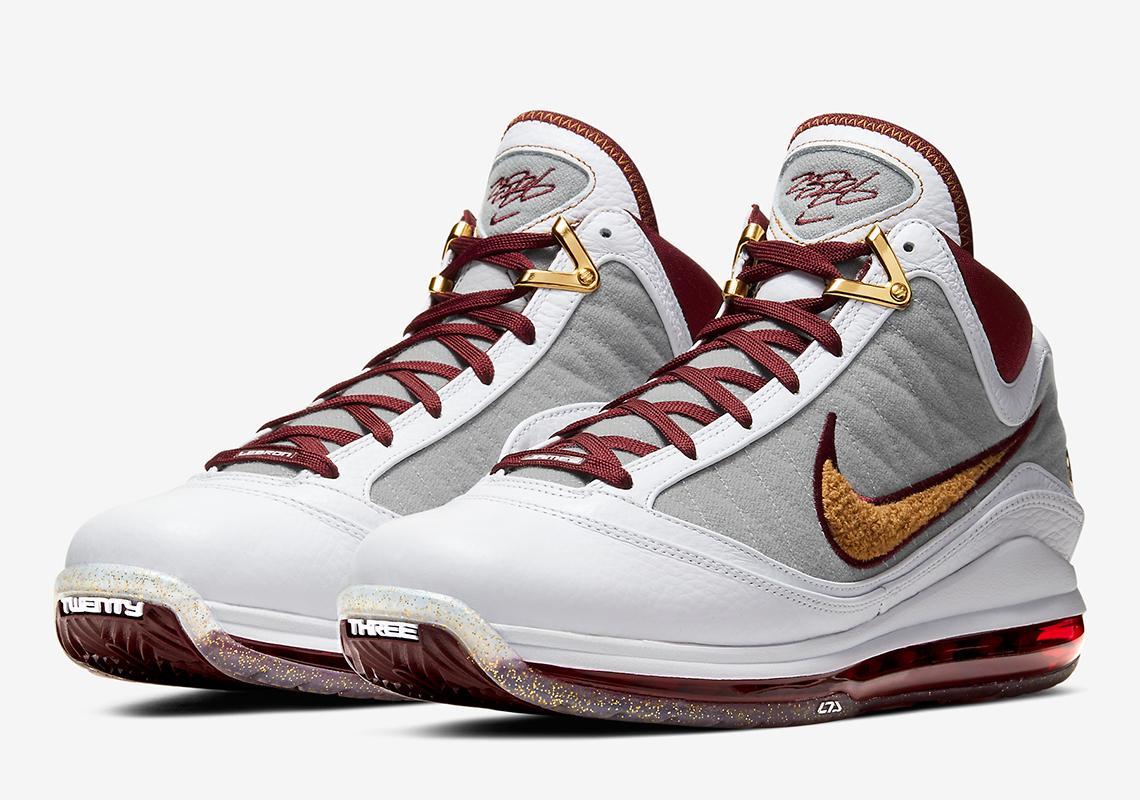 Nike LeBron 7 MVP White Red CZ8915-100