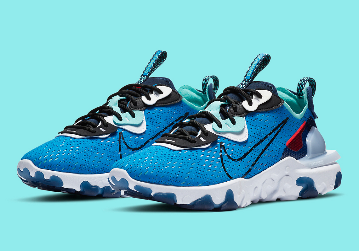 The Nike React Vision Returns To Sporty