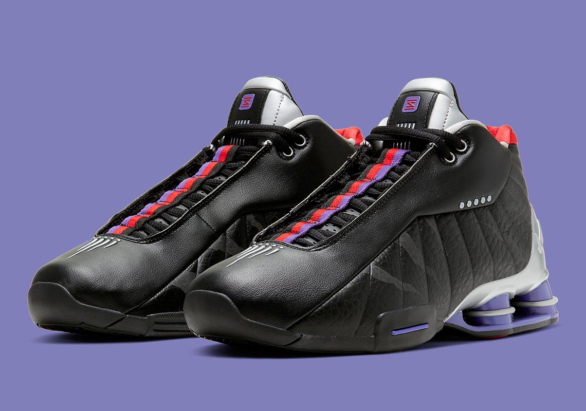 Nike Shox BB4 Noir Court Violet CD9335 002 Crumpe