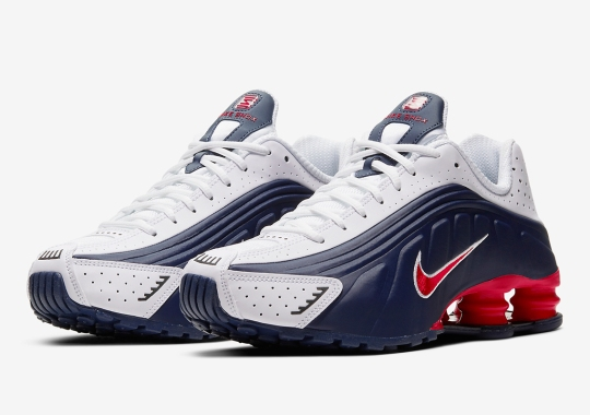 A Patriotic Nike Shox R4 Arrives For The July 4th Holiday