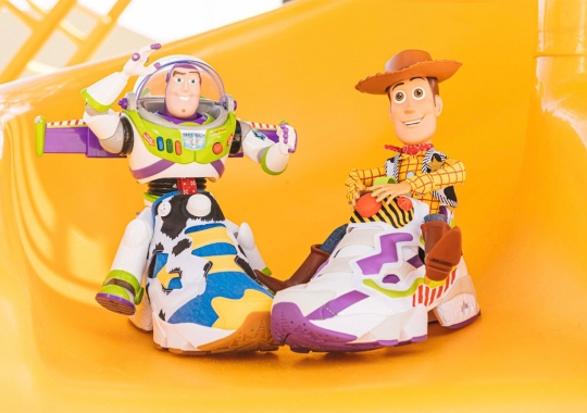 BAIT Teams Up With Pixar's Toy Story And Reebok To Celebrate The Iconic Woody And Buzz Duo
