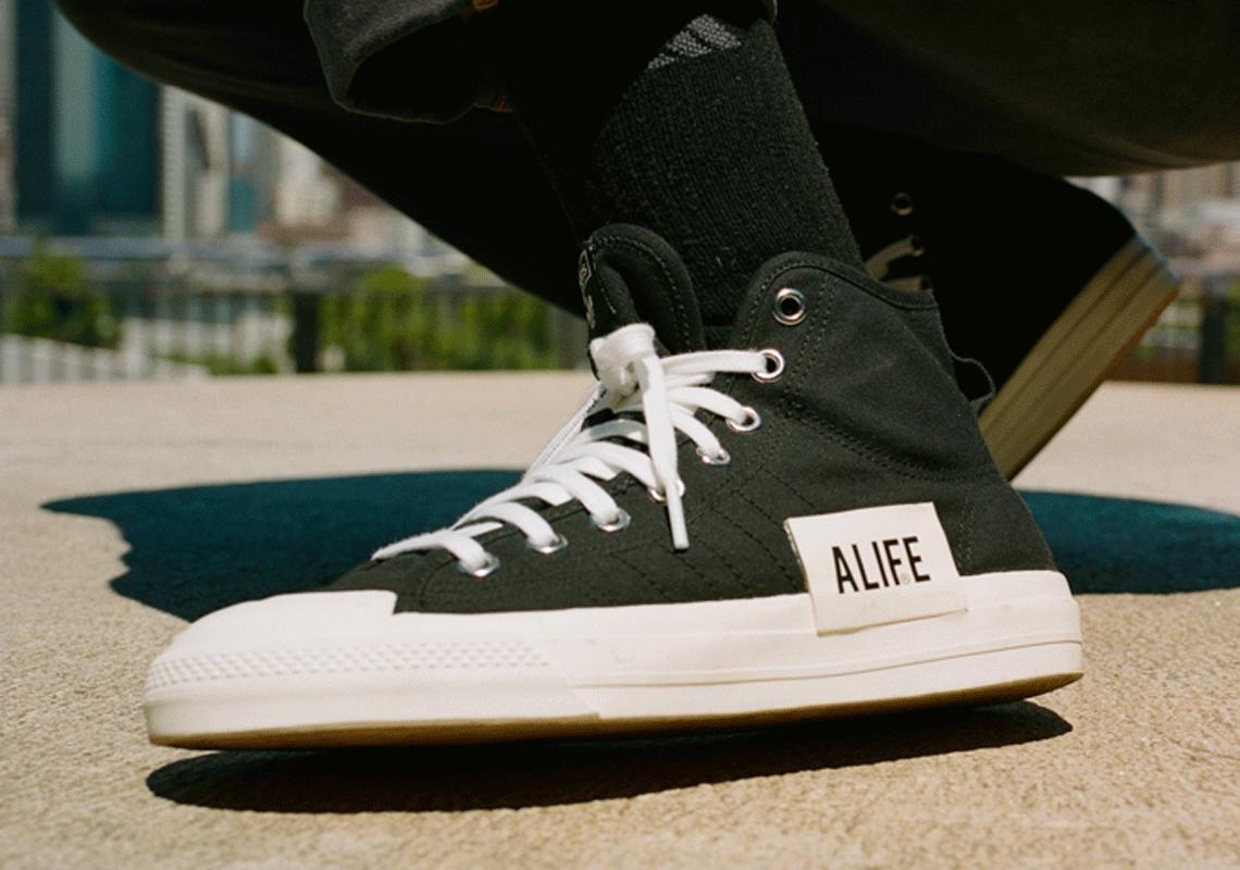 ALIFE adidas Nizza Hi Release Date   SneakerNews.com