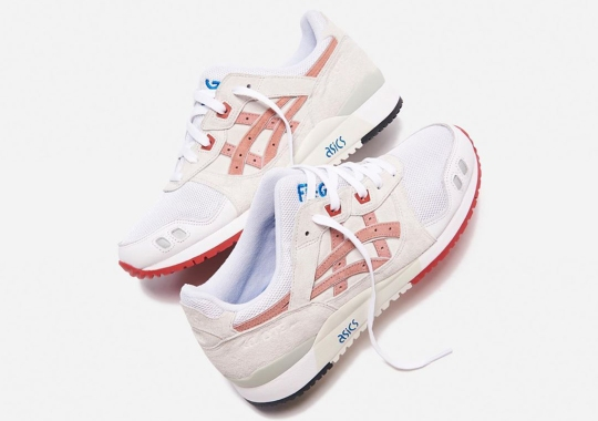 "Ronnie Fieg Reveals His ASICS GEL-Lyte III ""Yoshino Rose"""