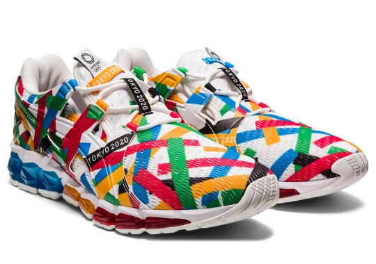 ASICS To Deliver Two Officially Licensed Capsules In Honor Of The Tokyo Olympics