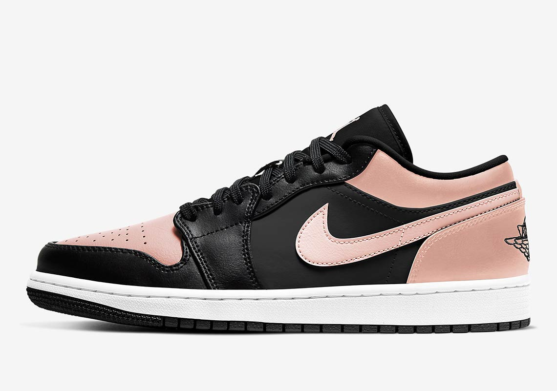 "The Attractive ""Crimson Tint"" Appears On The Air Jordan 1 Low"